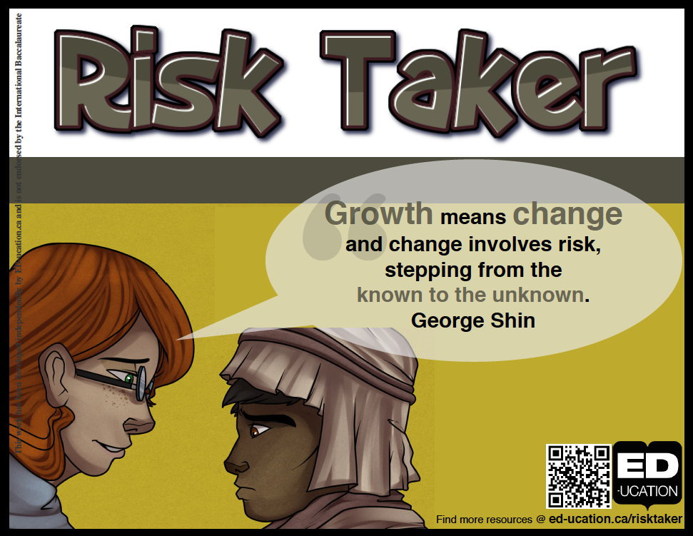 Click on either of the images below to access the FREE IB Learner    Risk Taker Clipart